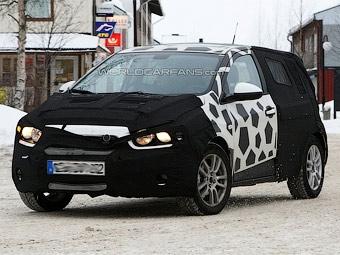 Фотошпионы засняли неизвестную модель Chevrolet
