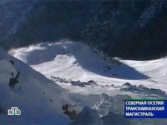 Транскам закрыт для движения из-за опасности схода лавин