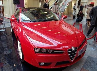 В России стартовали продажи нового купе Alfa Romeo