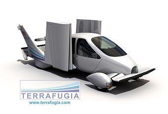 Летающий автомобиль-трансформер готовится к производству