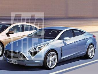 """Следующее поколение Ford Mondeo получит кузов """"четырехдверное купе"""""""