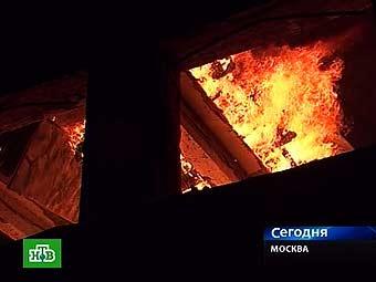 Из-за пожара в МАИ на Ленинградском шоссе затруднено движение