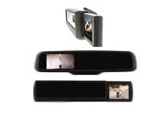 Magna представила салонное зеркало со встроенным дисплеем