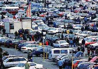 По дорогам России ездит почти миллион угнанных за границей машин