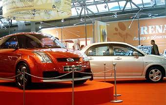 """Suzuki показал на """"Автосалоне-2003"""" обновленный внедорожник и стильный концепт"""