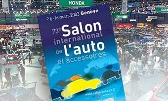 Автосалон в Женеве открывается для посетителей