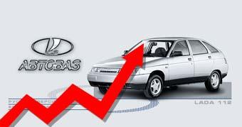 Цены на автомобили ВАЗ растут вслед за спросом