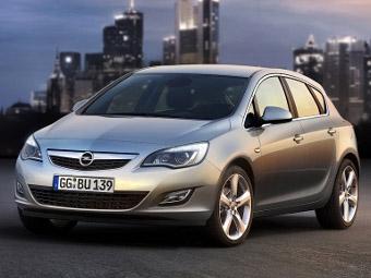 В России началась сборка Opel Astra нового поколения