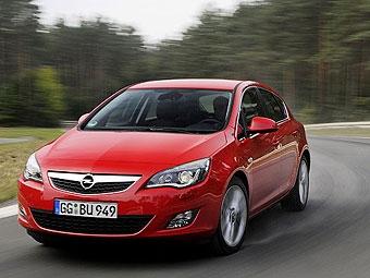 Названы российские цены на Opel Astra нового поколения