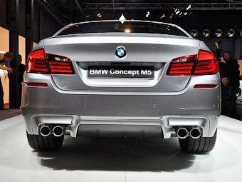"""Появились фотографии самой мощной """"пятерки"""" BMW"""