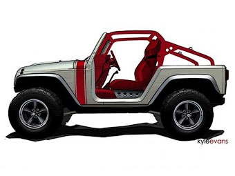 Два новых внедорожных концепт-кара Jeep представят в пустыне