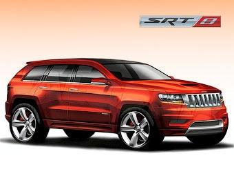 """""""Заряженный"""" Jeep Grand Cherokee разгонится до """"сотни"""" за 4 секунды"""