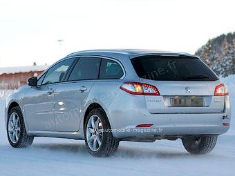 """Peugeot готовит """"внедорожную"""" версию универсала 508"""