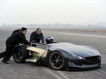 Концепт-кар Peugeot стал самым быстрым среди электрокаров
