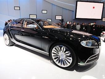 Суперседан Bugatti появится через три года