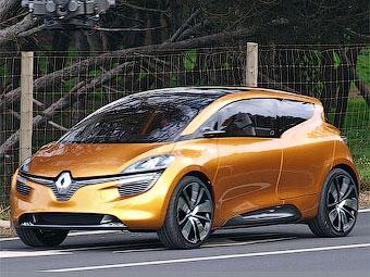 Появились фотографии нового компактвэна Renault