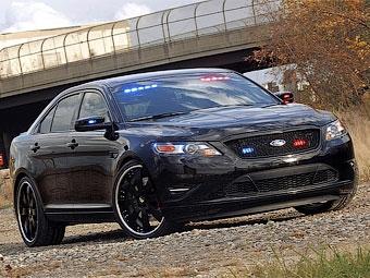 Дизайнер Ford разработал автомобиль для полицейских под прикрытием