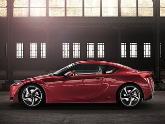 """Прототип совместного с """"Тойотой"""" купе Subaru покажут в Женеве"""