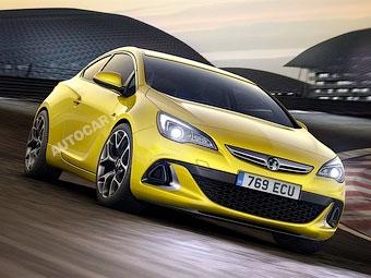 Британский журнал раздобыл рендеры нового Opel Astra OPC