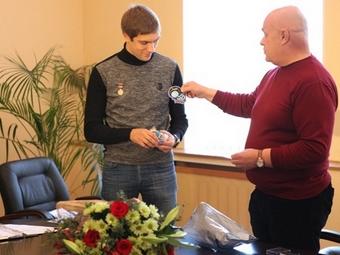 Виталия Петрова наградили медалью Гагарина