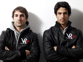 Гонщик команды Формулы-1 Virgin пошутил над напарником