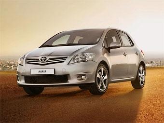 В России начались продажи обновленного Toyota Auris