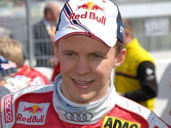 Чемпион гоночной серии DTM Маттиас Экстрем сломал запястье