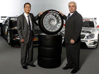 В 2011 году чемпионат DTM поедет на шинах корейского производства