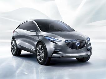 GM показал в Шанхае прототип кроссовера Buick