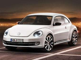 Американский журнал рассекретил новый VW Beetle раньше срока