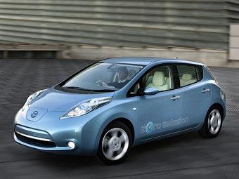 Компания Nissan отозвала 5300 электрокаров