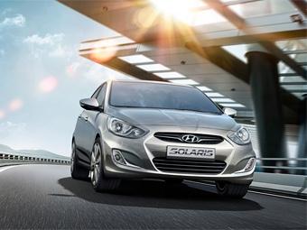 Бюджетный седан Hyundai вошел в тройку самых популярных иномарок в России