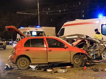 В январе треть российских ДТП произошла из-за плохих дорог