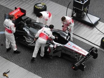 Команда McLaren отказалась от радикальной системы выхлопа