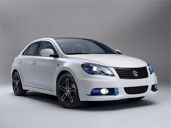 Компания Suzuki разработала на базе Kizashi автомобили-антиподы