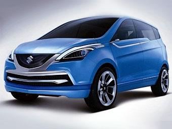 Компания Suzuki одобрила выпуск шестиместного компактвэна