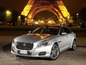 Седан Jaguar XJ получит полный привод