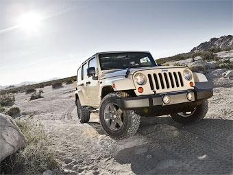 Марка Jeep посвятила спецверсию Wrangler пустыне Мохаве