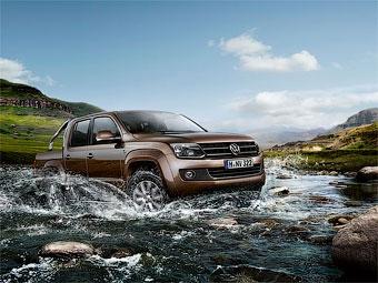 Стала известна стоимость пикапа Volkswagen Amarok в России