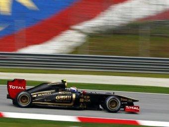Проблемы команды Renault в тренировке были вызваны дефектными деталями подвески