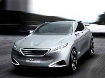 Компания Peugeot рассекретила новый кроссовер