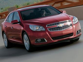 Концерн GM по ошибке показал седан Chevrolet Malibu нового поколения