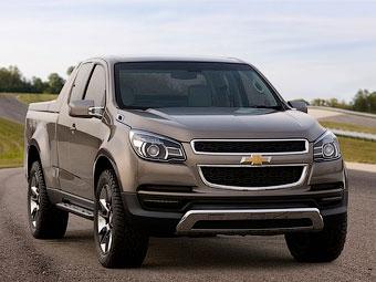 Рассекречена внешность нового пикапа Chevrolet Colorado