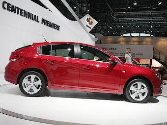 Chevrolet Cruze стал хэтчбеком