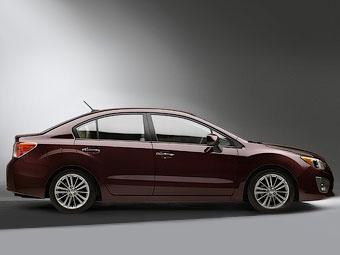 """Компания Subaru показала первую фотографию новой """"Импрезы"""""""