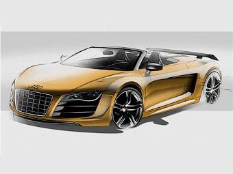 """Самый мощный родстер Audi R8 представят на """"24 часах Ле-Мана"""""""