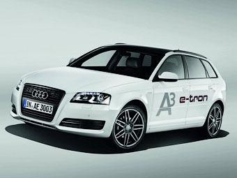 Хэтчбек Audi A3 превратили в электрокар