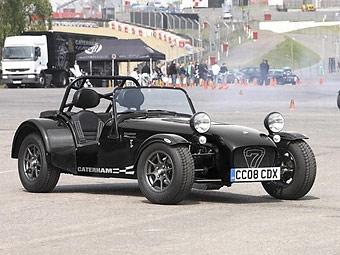Caterham подготовил дорожную версию трекового спорткара Seven CDX