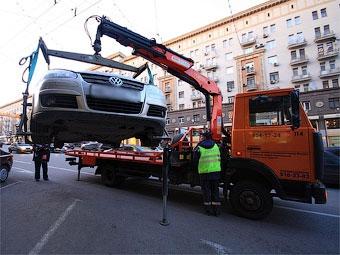 Абонентов МТС оповестят об эвакуации их автомобилей