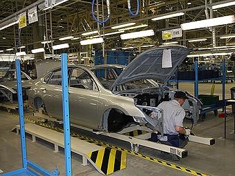 Российский завод Nissan остановит работу из-за землетрясения в Японии